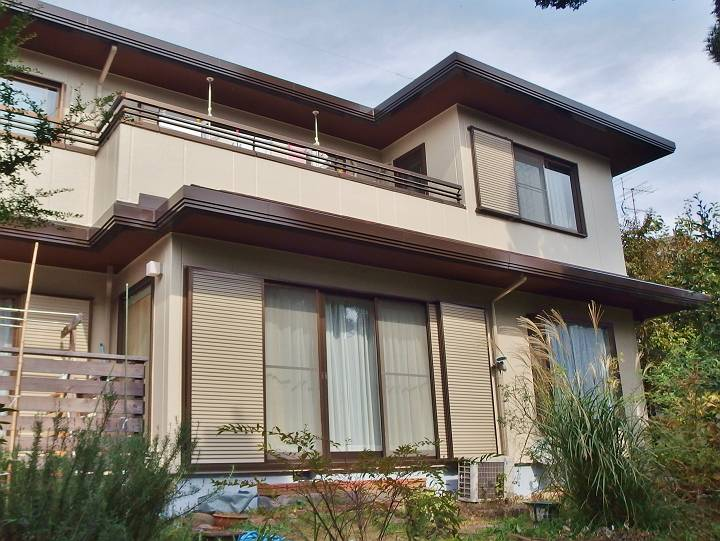 2世帯住宅の塗り替え