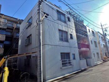 武蔵野市Sコーポ外壁塗装工事・施工前 東面外観
