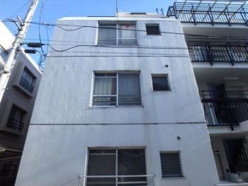 武蔵野市Sコーポ外壁塗装工事・施工前 北面外観