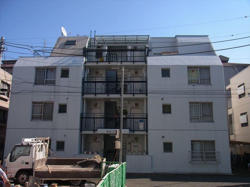 武蔵野市Sコーポ外壁塗装工事