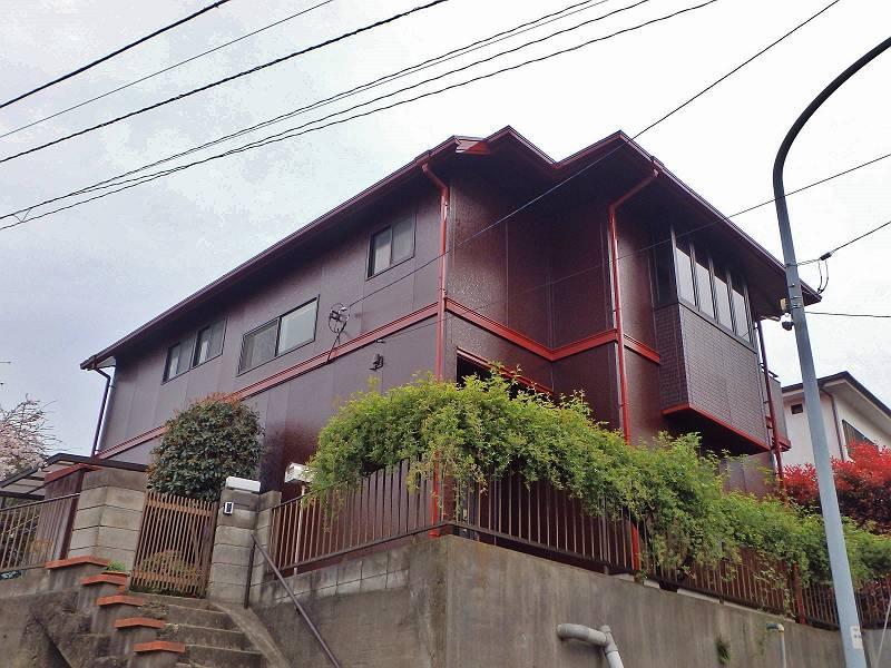 横浜市保土ヶ谷区 S様邸 外壁・屋根塗装(2017年4月10日 完工)