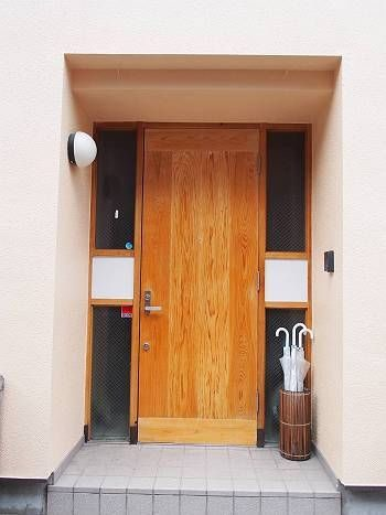 施工後 玄関扉