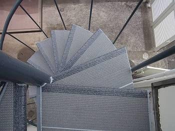 施工後 ご自宅外部階段