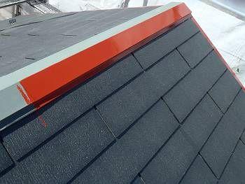 今回のサビ止めは【赤さび色】で塗っています。 最近の錆止めには各色あります。 主に、白・黒・グレー・赤さび色があります。