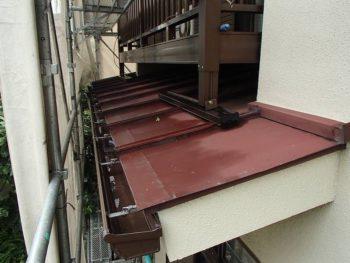 【ビフォー】下屋根