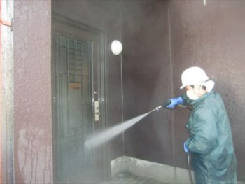 洗浄 外壁・玄関