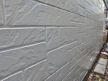 外壁も塗装され、ツヤを増しました。