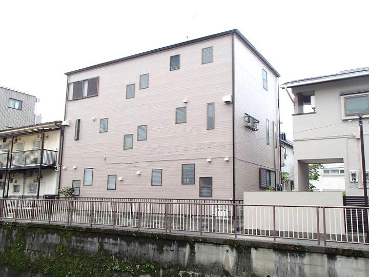 3階建て2世帯住宅の塗替え