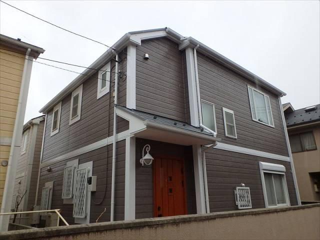 小金井市 Y様邸 外壁・屋根塗装(2017年2月10日 完工)