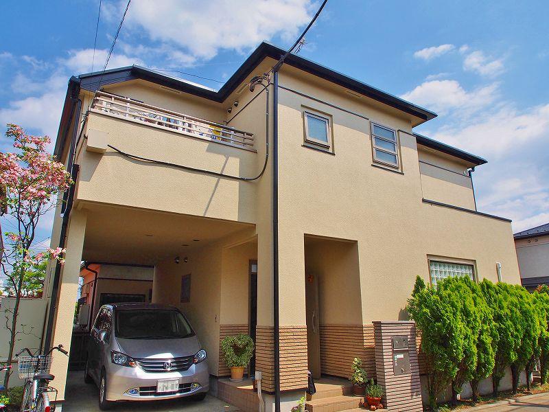 立川市T様邸 外壁屋根塗装