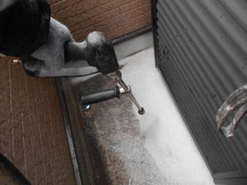高圧洗浄 防水層