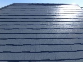 屋根塗装工事後(アフター)
