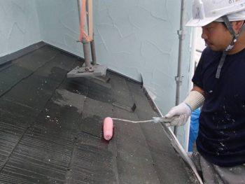 【屋根下塗り】下屋根 SK化研:マイルドシーラーエポ