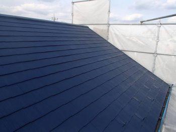【屋根塗装】中塗り SK化研:クールタイト(CLR-128)