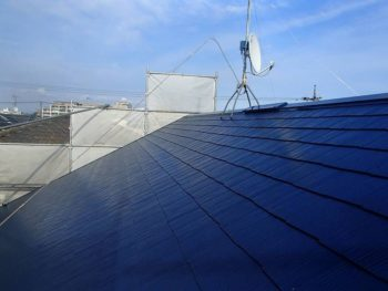 【屋根塗装】上塗り SK化研:クールタイト(CLR-128)