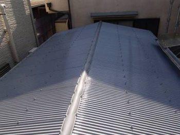 【波板屋根塗装】終了