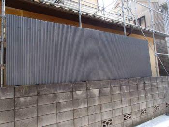 【波板塀塗装】終了