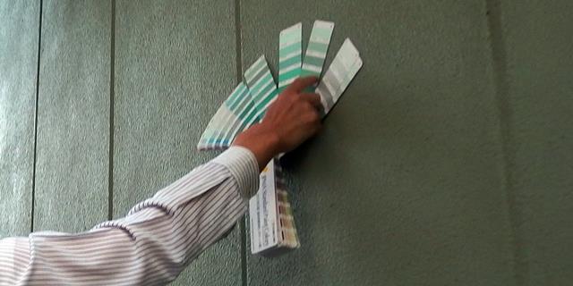 塗り板を作る色を決める