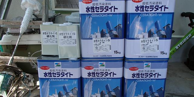 水性セラタイトSi塗料缶