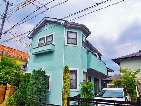 35坪モルタル外壁の塗装費用の相場は845,000円