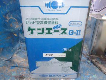 軒天に使用した塗料 ケンエースG-Ⅱ(N-90)