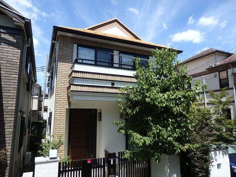 世田谷区N様の外壁塗装工事の完成写真