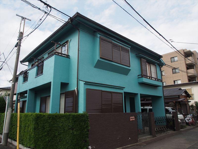 狛江市O様の外壁塗装工事の完成写真