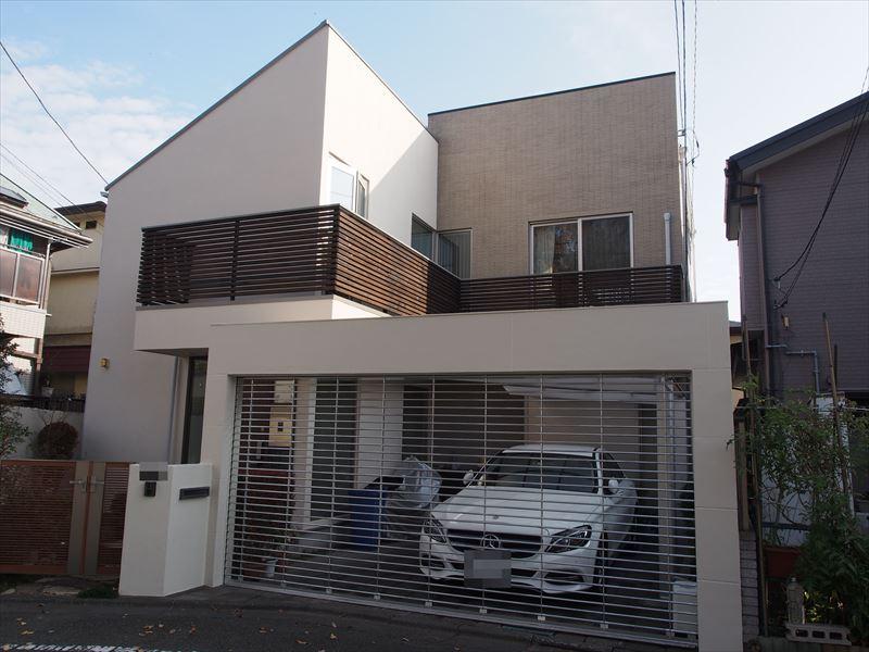 世田谷区I様邸の外壁塗装工事の完成写真