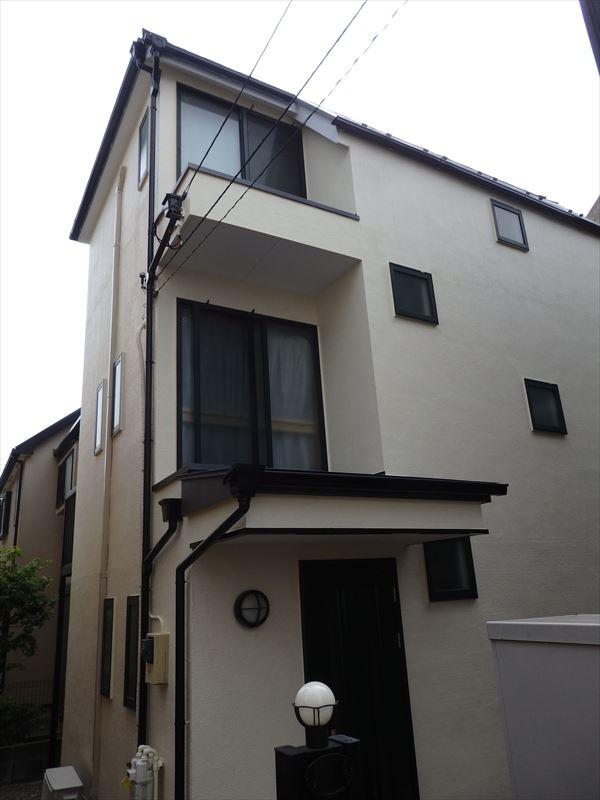 世田谷区Y様の外壁塗装工事の完成写真