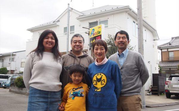 世田谷区K様と外壁塗装工事の完成記念写真