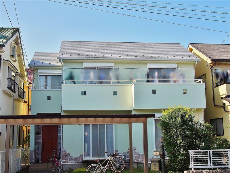 日野市土方様の外壁塗装工事の完成写真