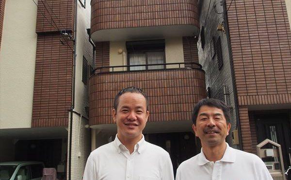 世田谷区E様の外壁塗装工事の完成記念写真