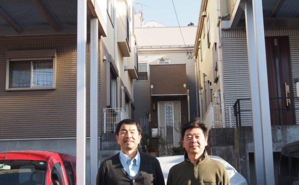 世田谷区N様の外壁塗装工事の完成記念写真