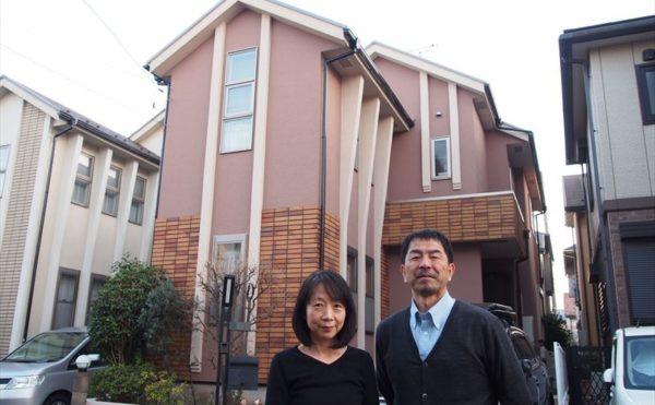 世田谷区I様の外壁塗装工事完成記念写真