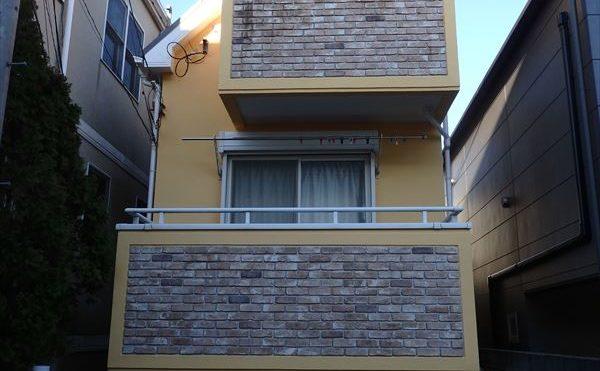 世田谷区C様の外壁塗装工事の完成写真