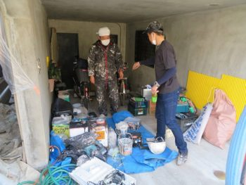 外壁塗装 現場