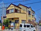 25坪・木造ALC外壁の家の外壁塗装 ¥780,000円 (+屋根塗装20万円)