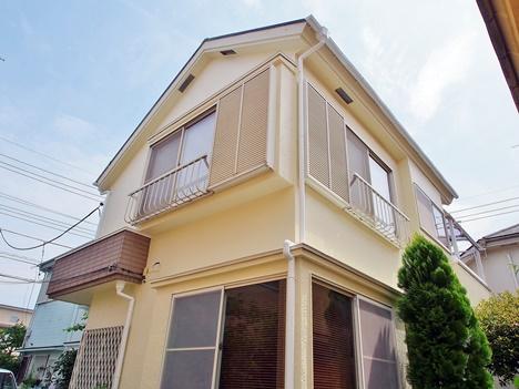 25坪の家の外壁塗装 ¥684,000円