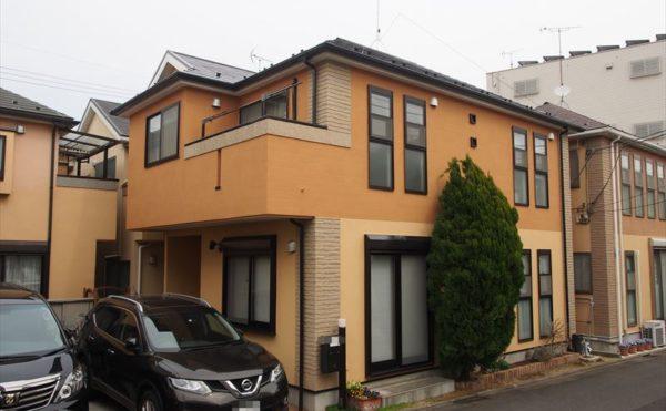 川崎市T様の外壁塗装工事の完成写真