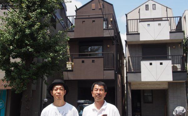 世田谷区T様の外壁塗装工事の完成記念写真