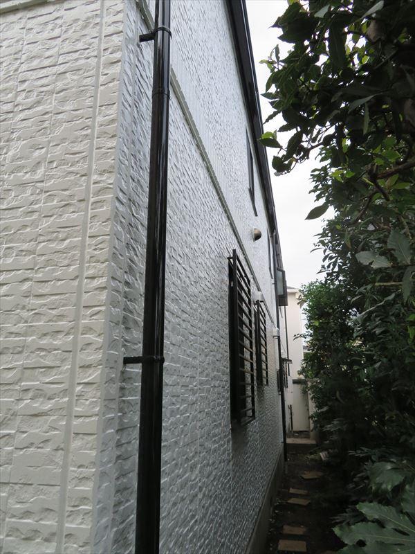外壁もきれいに仕上がりました。
