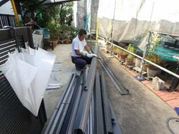 外壁塗装 雨樋交換