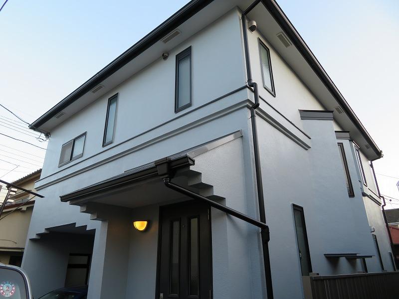 杉並区S様の外壁塗装工事の完成写真