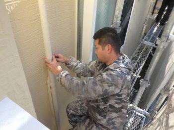 外壁塗装 配管テープ