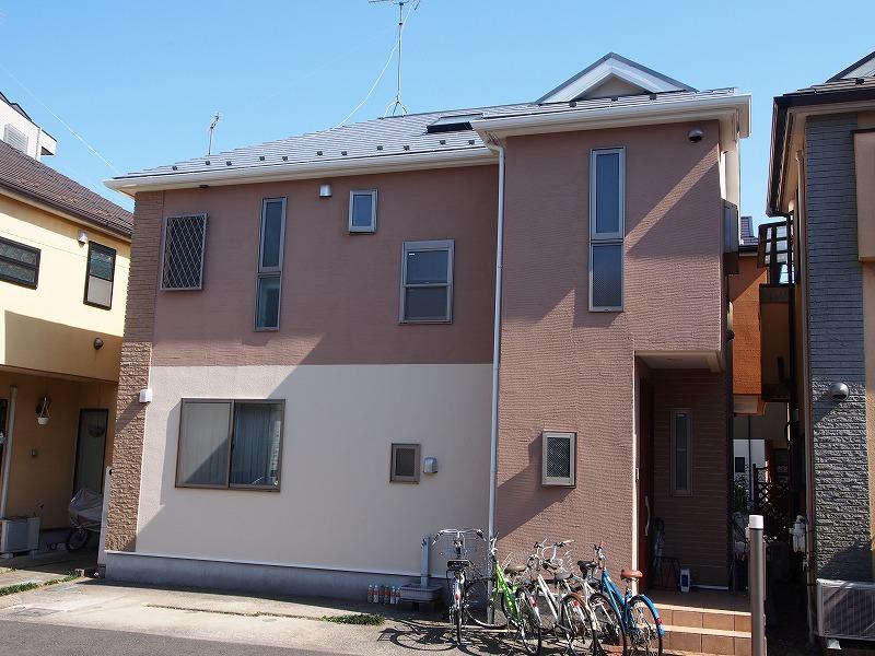 川崎市O様の外壁塗装工事の完成記念写真