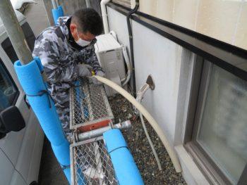 外壁塗装 配管カバー
