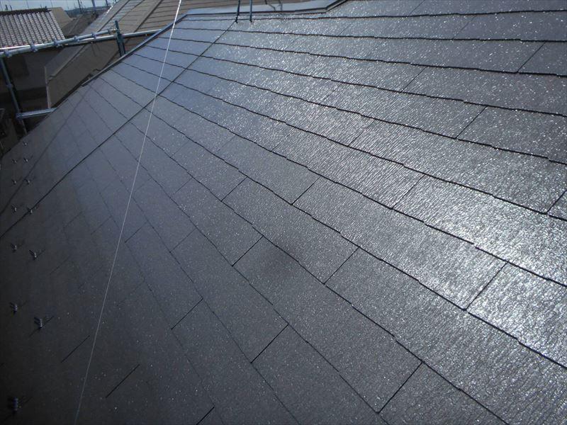 きれいに屋根が仕上がりました。