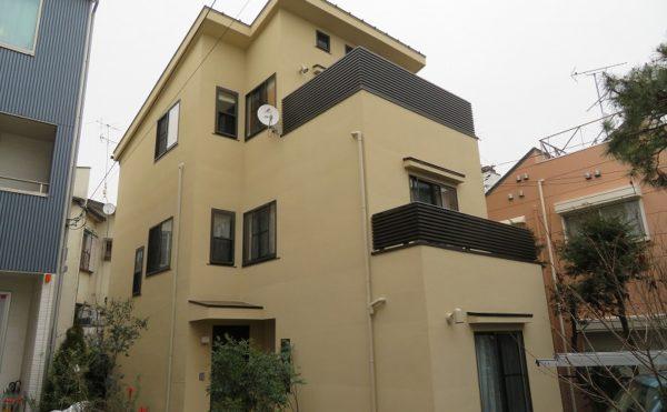 世田谷区O様邸・外壁屋根塗装工事