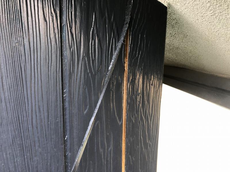 外壁塗装 練馬区K様邸 シールの撤去中 20200402S__12255239