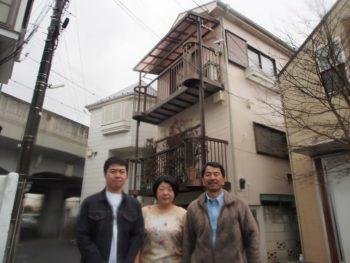 武蔵野市Y様の外壁塗装工事の完成記念写真